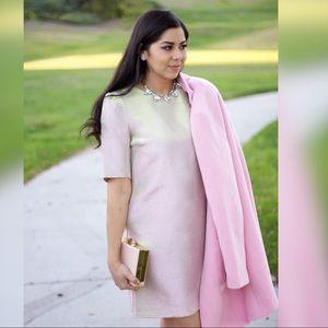 River Island Pink/Metallic Shift Dress